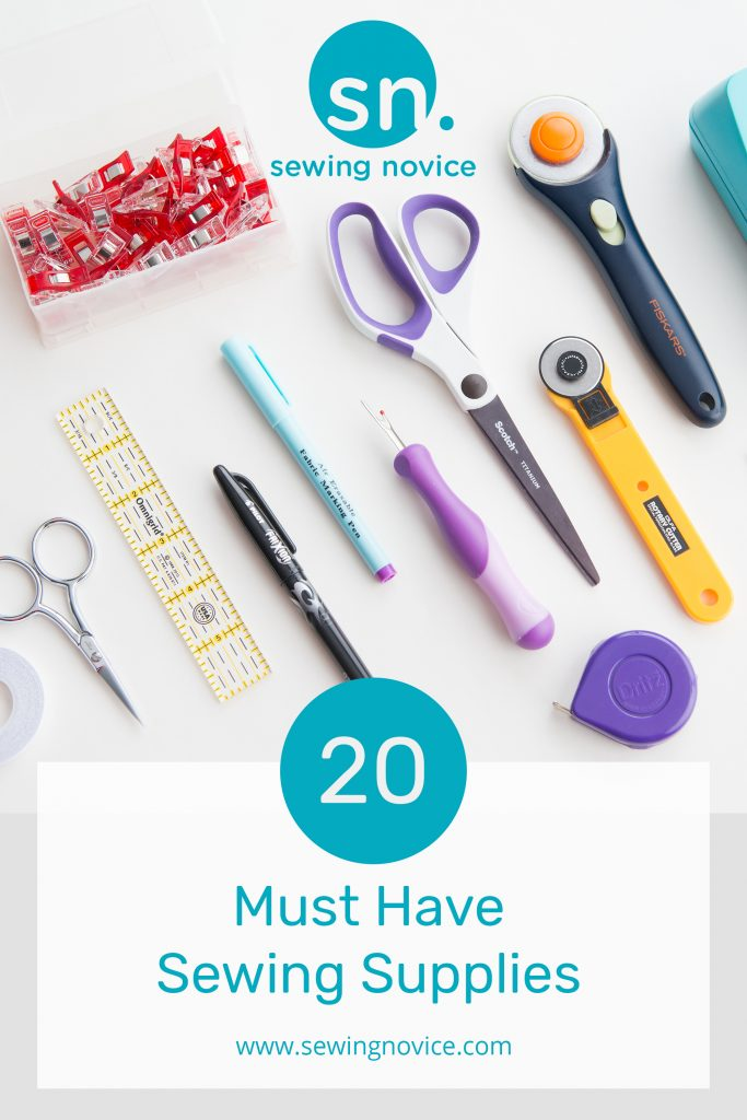 20 Must Have Sewing Supplies - www.sewingnovice.com