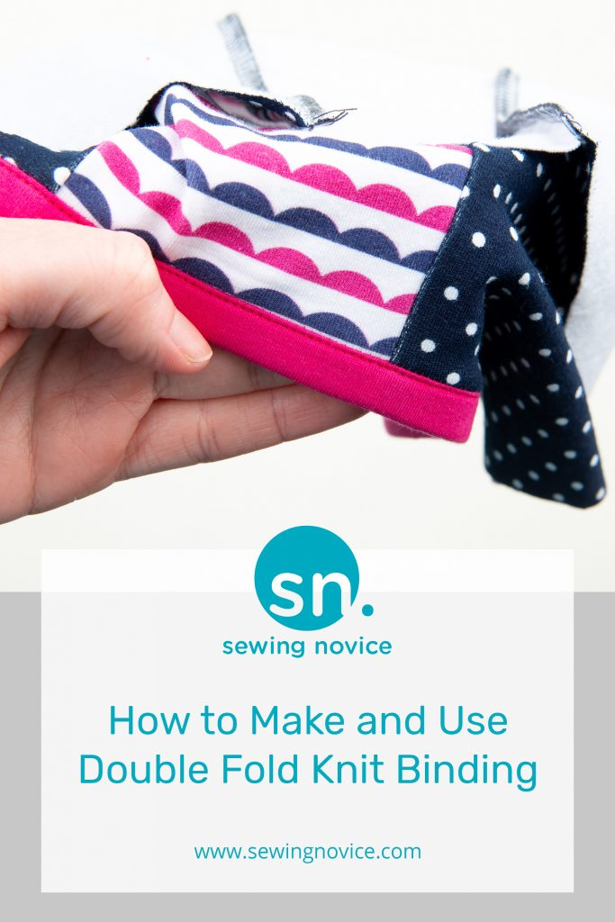 Double Fold Knit Binding